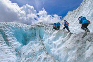 Caminhadas nas Geleiras e Escalada no Gelo