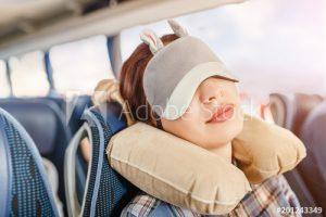 Travesseiro de Pescoço e Capa de Olhos Dormir