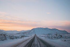 Inverno na Islândia:
